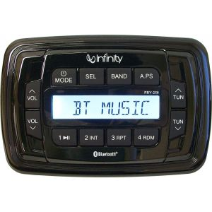 Infinity Waterproof AM/FM/USB Player with Bluetooth