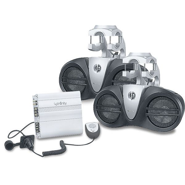 Infinity Wakeboard Tower Speakers 450W With Amplifier PA Mic
